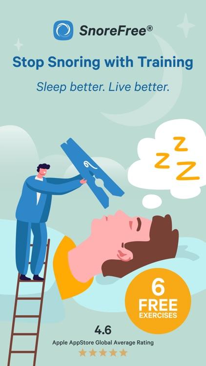 Snore Free Deep Sleep Solution screenshot-0