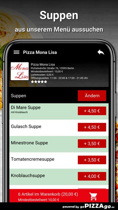 Pizza Mona Lisa Berlin screenshot 5