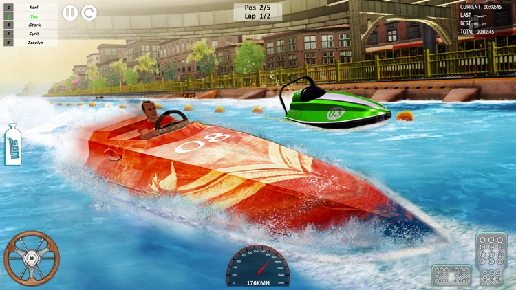 Speed Boat Driving Game 2021 screenshot-5