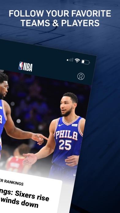 NBA: Live Games & Scores Screenshot