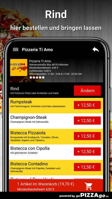 Pizzeria Ti Amo Münster screenshot 6
