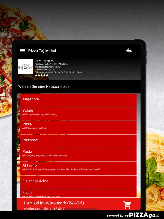 Pizza Taj Mahal Plattling screenshot 8