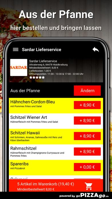 Sardar Lieferservice Waldkraib screenshot 6
