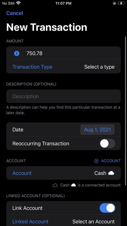 Cashflow Calendar screenshot-3