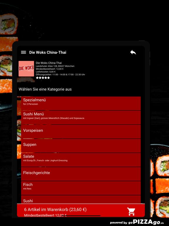 Die Woks China-Thai München screenshot 8