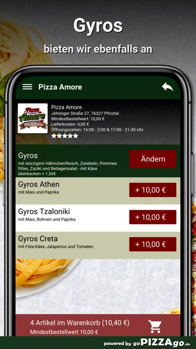 Pizza Amore Pfinztal screenshot 6