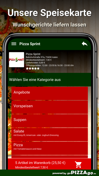 Pizza Sprint Aalen screenshot 4