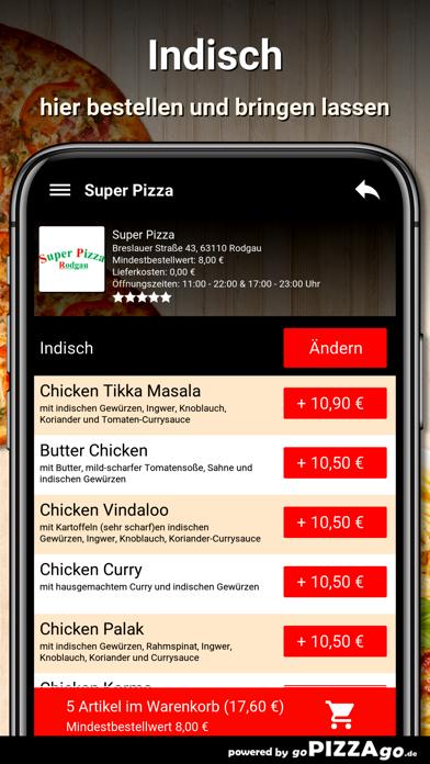 Super-Pizza Rodgau screenshot 6