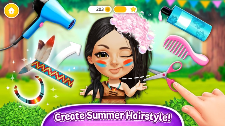 Sweet Baby Girl Summer Camp screenshot-3