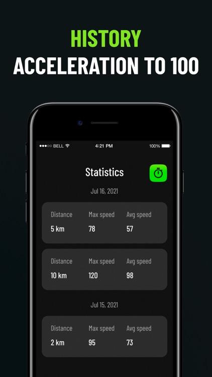 Speedometer - mileage tracker screenshot-3