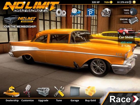 Ipad Screen Shot No Limit Drag Racing 2 0
