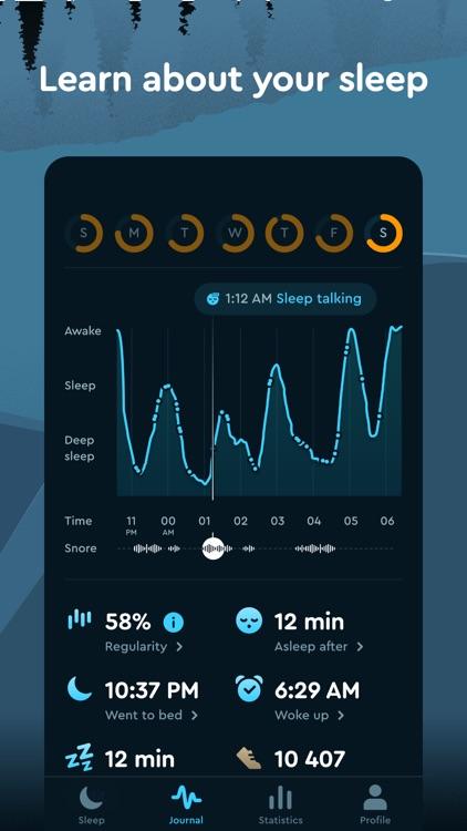 Sleep Cycle - Sleep Tracker screenshot-7