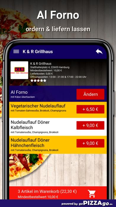 K & R Grillhaus Hamburg screenshot 6