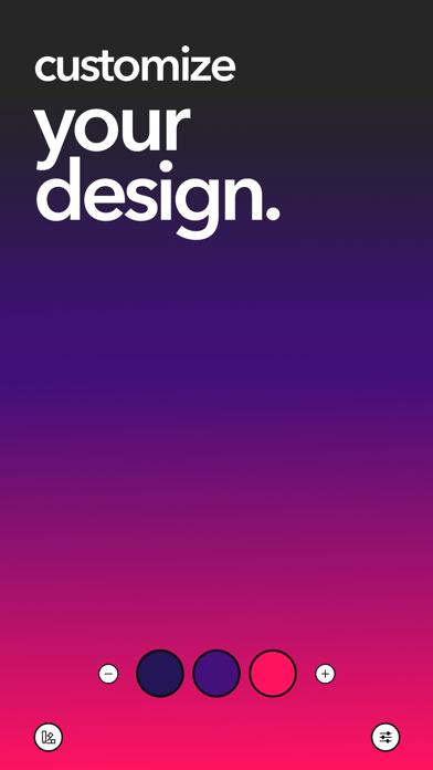 MyGradient: Wallpaper Maker screenshot 2