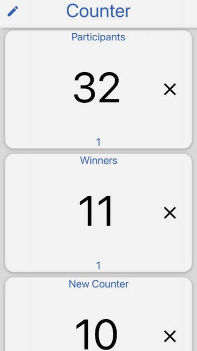 Counter - Counting Utility Screenshot