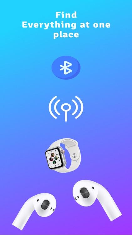 Bluetooth device finder.