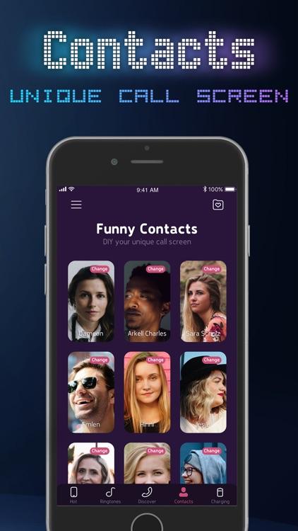 Funny Color Call & Ringtones screenshot-9