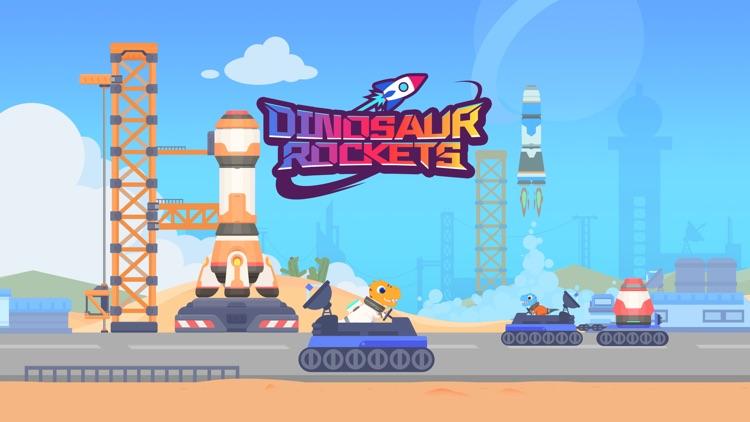 Dinosaur Rocket Games for kids screenshot-4