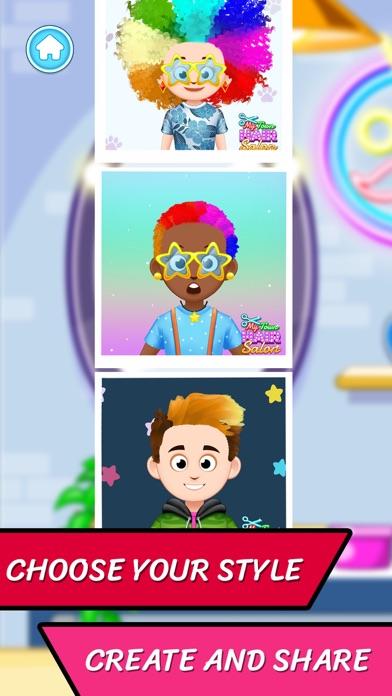 Hair Salon Hairstylist game screenshot 5