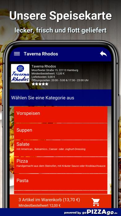 Taverna Rhodos Hamburg screenshot 4