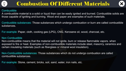 Burning of Different Materials screenshot 1