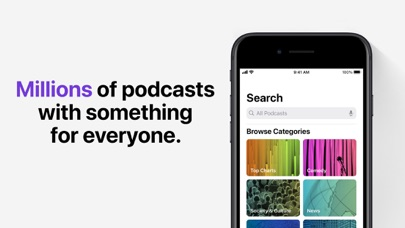 Apple Podcasts screenshot two