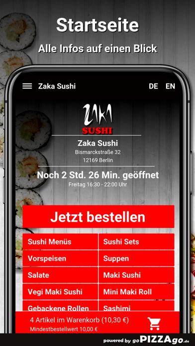 Zaka Sushi Berlin screenshot 2