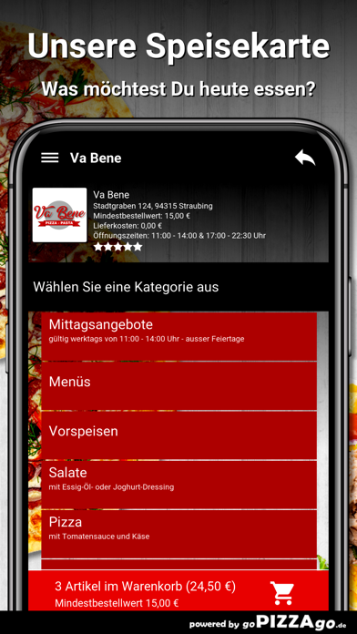 Va-Bene Straubing screenshot 4