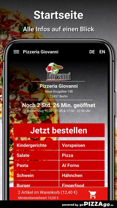 Pizzeria Giovanni Berlin screenshot 2
