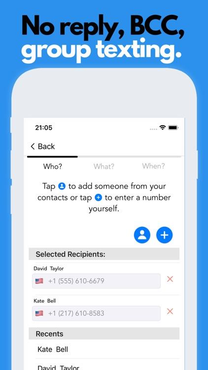 Fext: Future Texting Auto Text screenshot-3