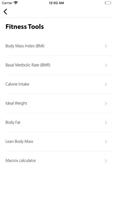 Barefoot Metabolics screenshot 2