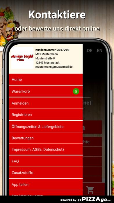 Amigo Night Pizza Heilbronn screenshot 3