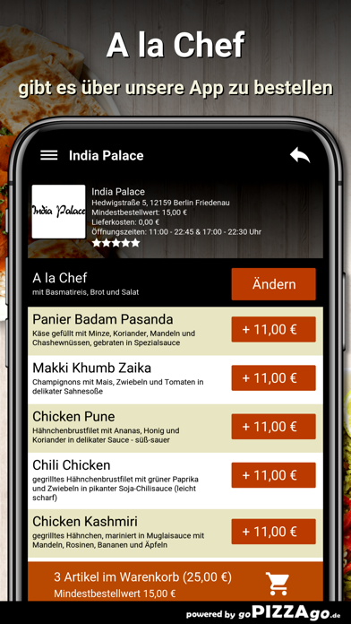 India Palace Berlin Friedenau screenshot 6