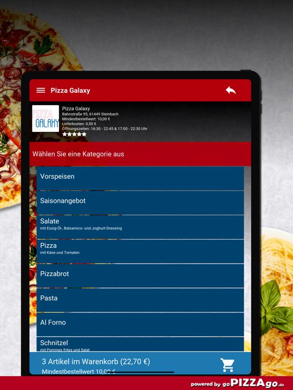 Pizza-Galaxy Steinbach screenshot 8
