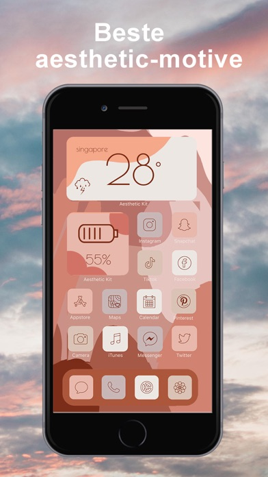 Aesthetic Kit,Icons und MotiveScreenshot von 1