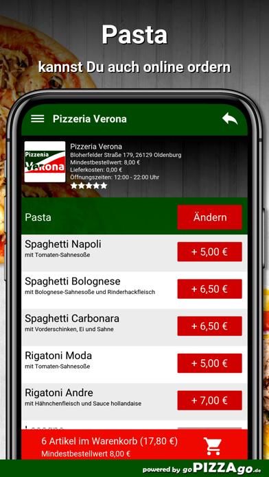 Pizzeria Verona Oldenburg screenshot 5