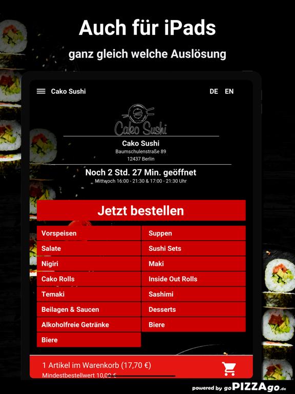 Cako Sushi Berlin screenshot 7