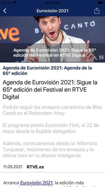 Eurovisión  rtve.es screenshot-3