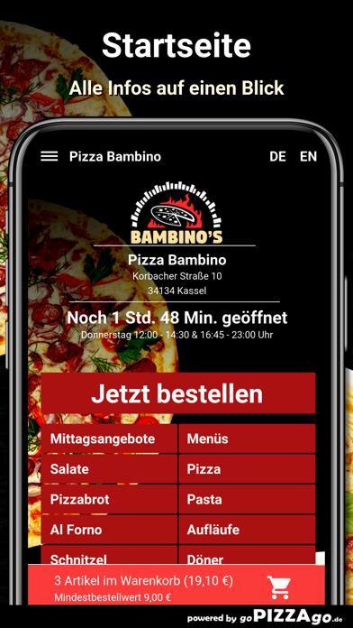 Pizza Bambino Kassel screenshot 2