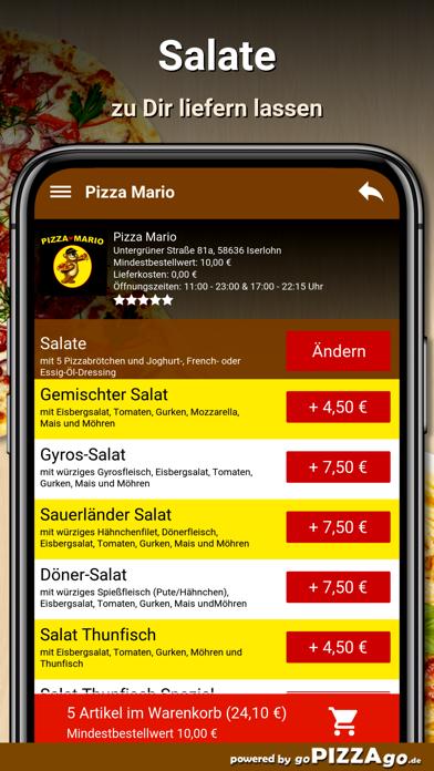 Pizza Mario Iserlohn screenshot 5
