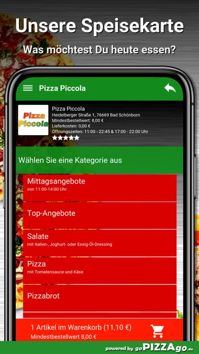 Pizza Piccola Bad Schönborn screenshot 4