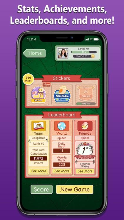 Spider Solitaire Deluxe® 2 screenshot-3