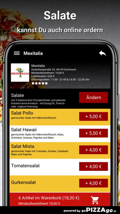 Mexitalia Dortmund screenshot 5