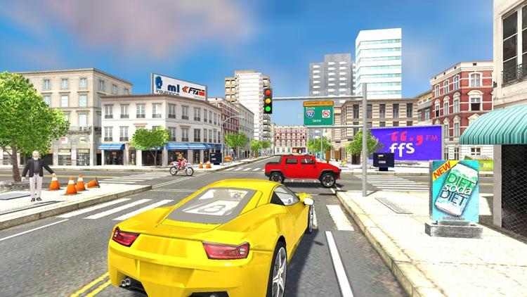 Car Driving School Sim 3d screenshot-3