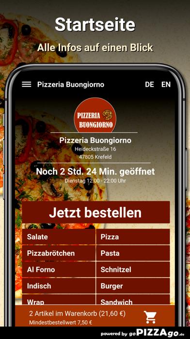 Pizzeria Buongiorno Krefeld screenshot 2
