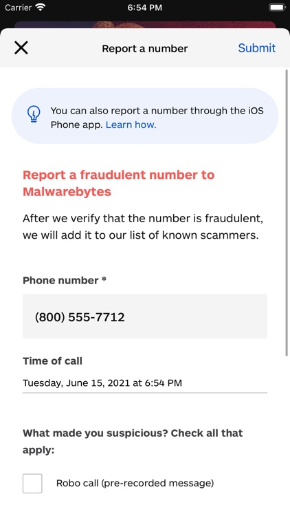 Malwarebytes Mobile Security screenshot-5