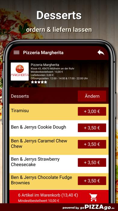 Pizzeria Margherita Mülheim screenshot 6