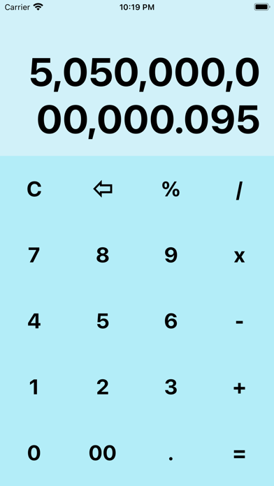 My BlueCalculatorلقطة شاشة3