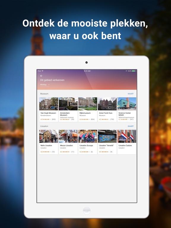 Google Maps iPad app afbeelding 5