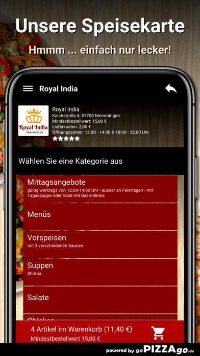 Royal India Memmingen screenshot 4